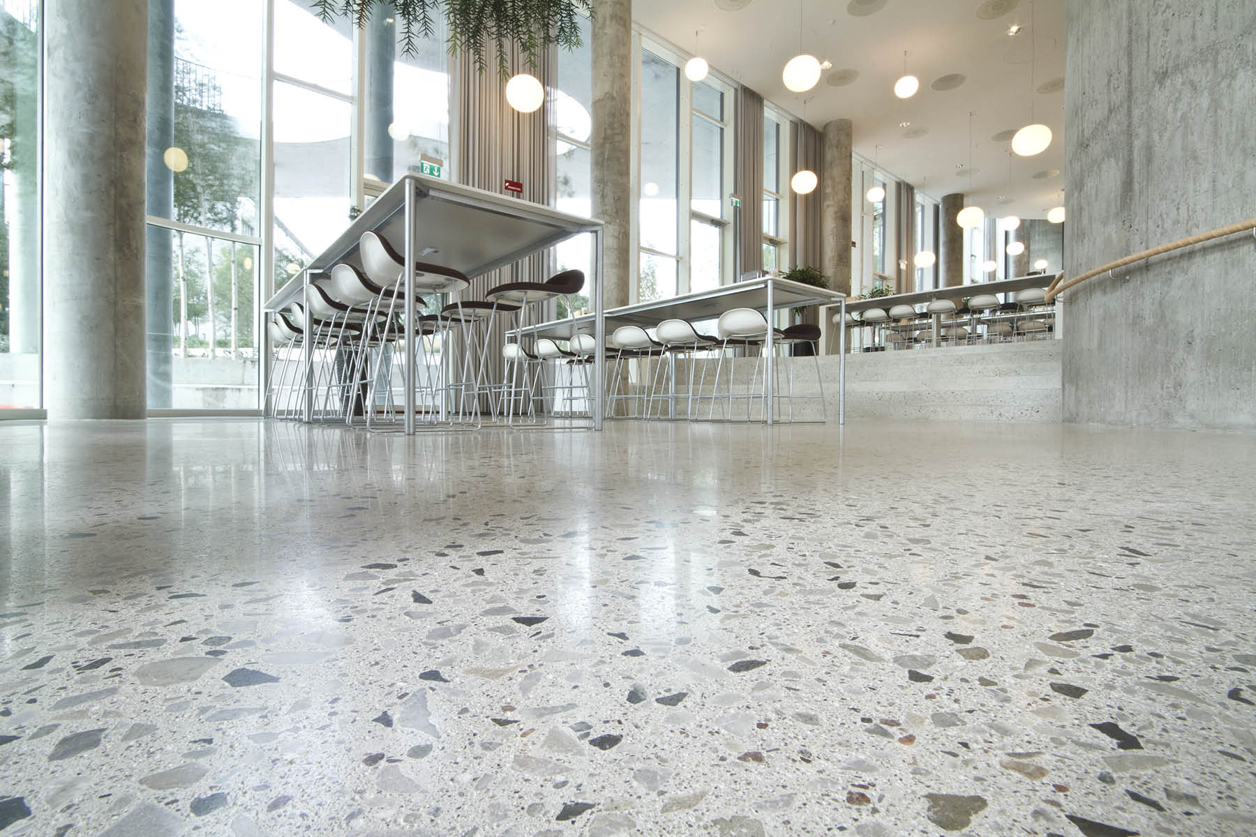 How To Clean A Polished Concrete Floor Epoxy Flooring Los Angeles