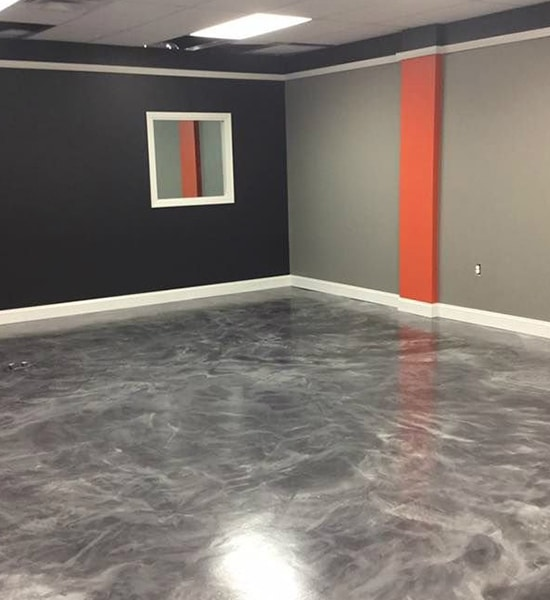 metallic epoxy floor Los Angeles